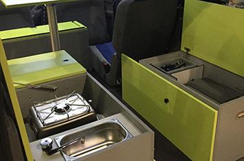 Mercedes Camper Van >> W U K (Wohnmobil Ultra Kompakt) - Minicampers presenteert modulaire compact camper box WUK. (wuk ...